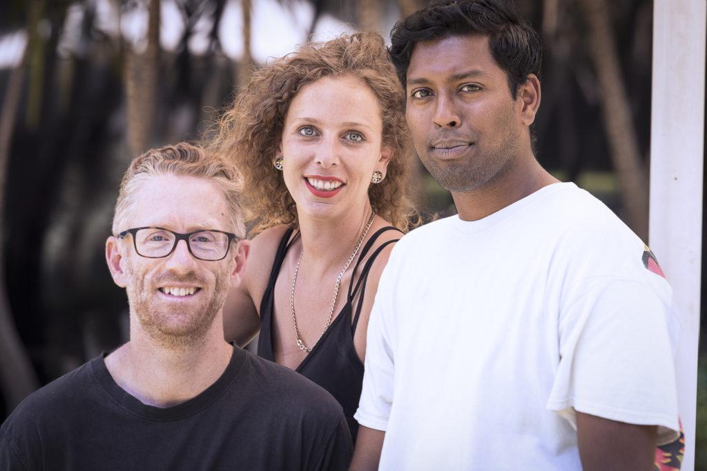 Anthony, Sarah, Aashvin