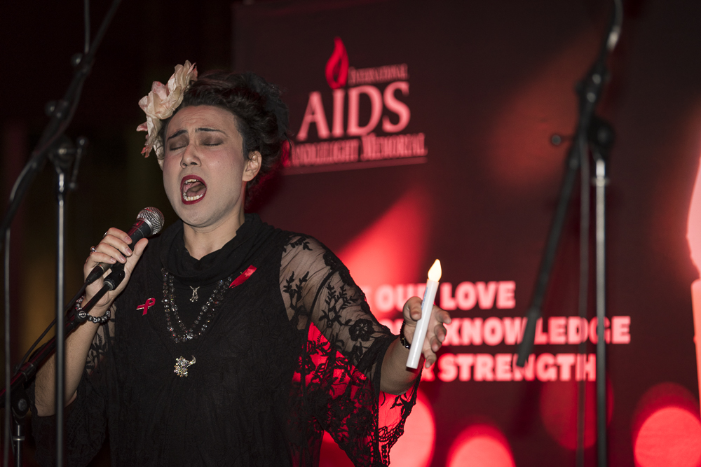 International AIDS Candlelight Memorial Melbourne